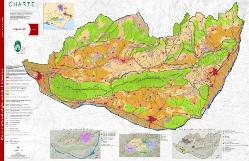 Le plan du Parc avec les zones, objectif 2021